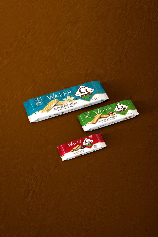Linea wafer senza glutine – Guidolce
