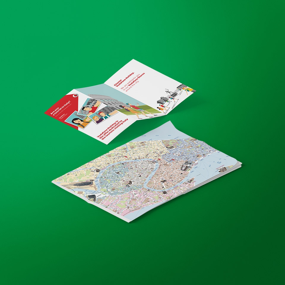 Vodafone – Tourist Maps