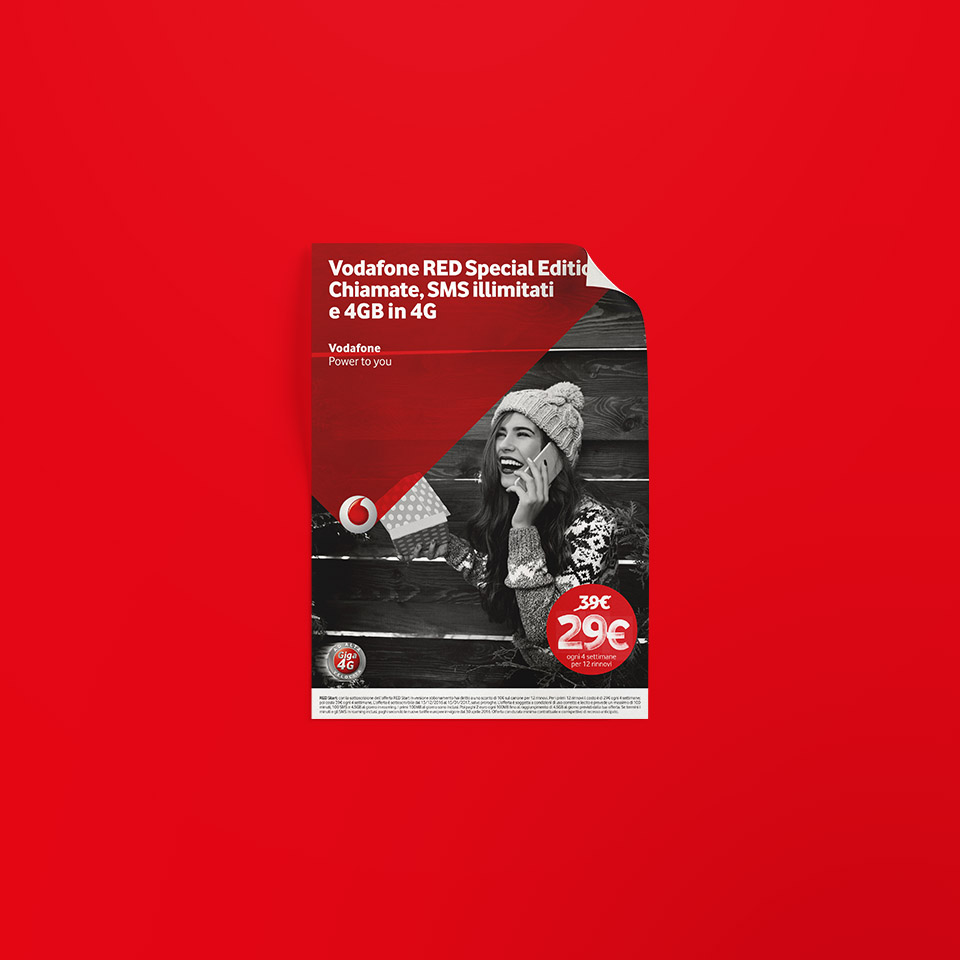 Vodafone – RED Edition