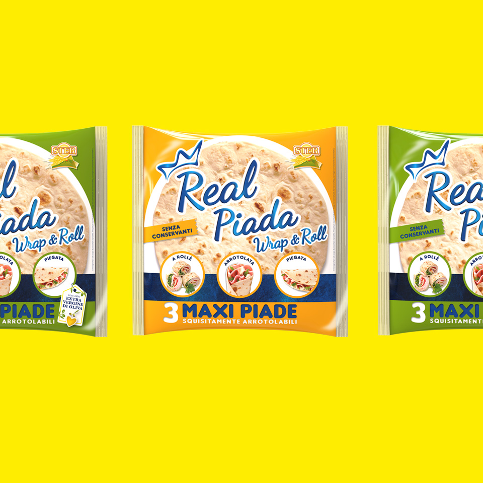 Nuova linea Real Piada Maxi – Ster S.p.a.